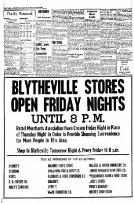 The Courier News from Blytheville, Arkansas on August 4, 1966 · Page 14