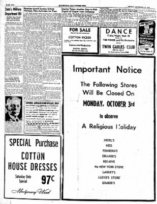 The Courier News from Blytheville, Arkansas on September 30, 1949 · Page 2