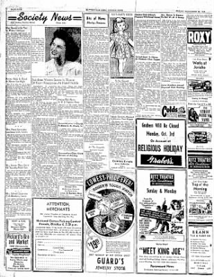 The Courier News from Blytheville, Arkansas on September 30, 1949 · Page 4