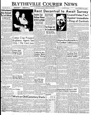 The Courier News from Blytheville, Arkansas on June 17, 1949 · Page 1