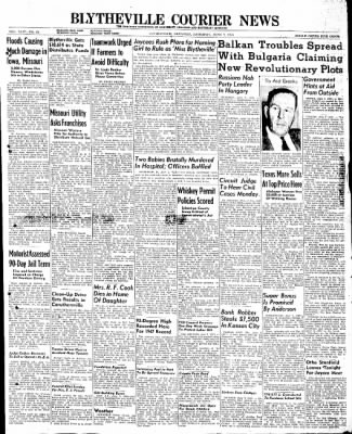 The Courier News from Blytheville, Arkansas on June 7, 1947 · Page 1