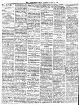 The Galveston Daily News from Galveston, Texas on August 21, 1884 · Page 4