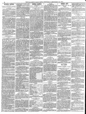 The Galveston Daily News from Galveston, Texas on September 10, 1884 · Page 2
