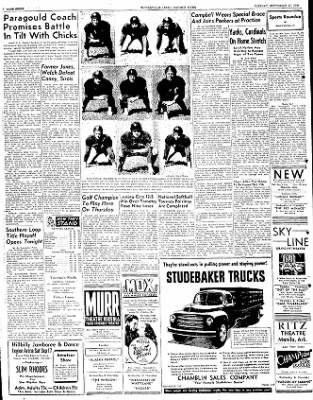The Courier News from Blytheville, Arkansas on September 13, 1949 · Page 8