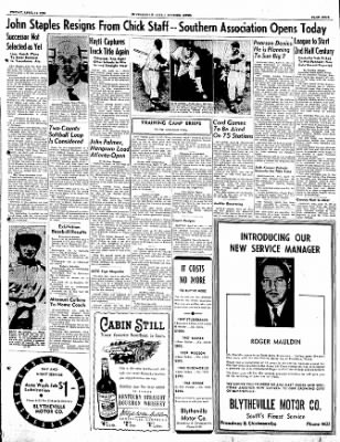 The Courier News from Blytheville, Arkansas on April 14, 1950 · Page 9