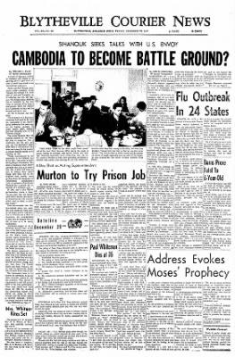 The Courier News from Blytheville, Arkansas on December 29, 1967 · Page 1