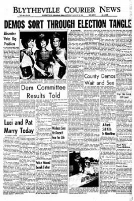 The Courier News from Blytheville, Arkansas on August 6, 1966 · Page 1