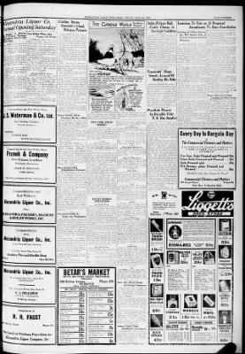 The Town Talk From Alexandria Louisiana On July 20 1934 Page 15