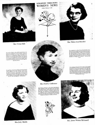 Kingsport Times-News from Kingsport, Tennessee on February 7, 1954 · Page 17
