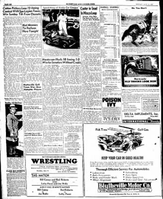 The Courier News from Blytheville, Arkansas on June 9, 1947 · Page 6