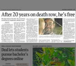Jasper N McMurtrey III Prison Release Article 2009