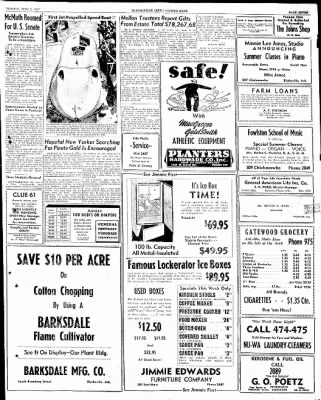 The Courier News from Blytheville, Arkansas on June 9, 1947 · Page 7