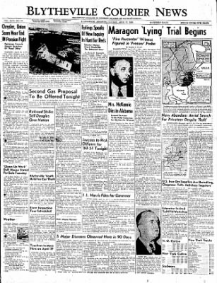 The Courier News from Blytheville, Arkansas on April 17, 1950 · Page 1