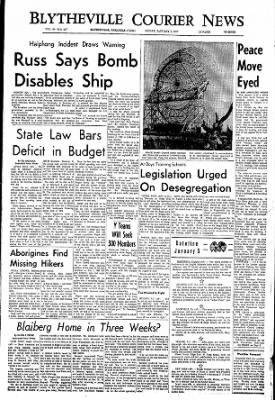 The Courier News from Blytheville, Arkansas on January 5, 1968 · Page 1