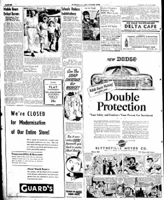 The Courier News from Blytheville, Arkansas on July 15, 1946 · Page 6