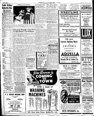 The Courier News from Blytheville, Arkansas on July 15, 1946 · Page 8