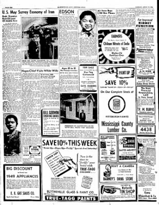 The Courier News from Blytheville, Arkansas on April 17, 1950 · Page 10
