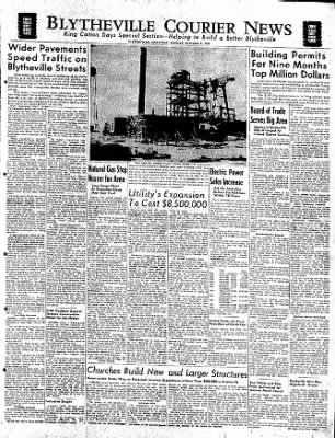 The Courier News from Blytheville, Arkansas on October 3, 1949 · Page 17
