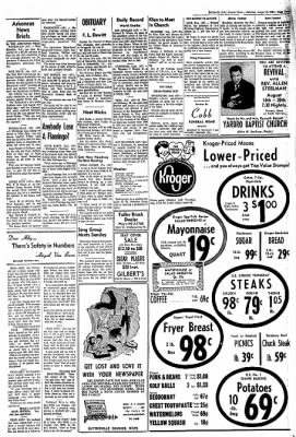 The Courier News from Blytheville, Arkansas on August 13, 1966 · Page 3