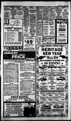 Battle Creek Enquirer From Battle Creek, Michigan On January 6, 1985 · Page  46