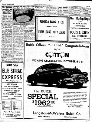 The Courier News from Blytheville, Arkansas on October 3, 1949 · Page 21