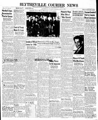 The Courier News from Blytheville, Arkansas on June 12, 1947 · Page 1
