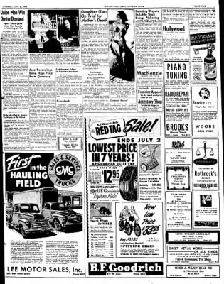 The Courier News from Blytheville, Arkansas on June 21, 1949 · Page 9