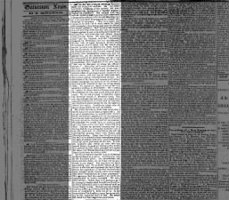A Texas newspaper's editorial about the assassination of Abraham Lincoln