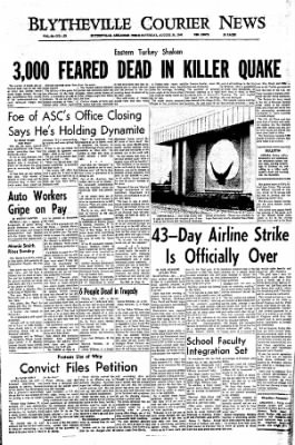 The Courier News from Blytheville, Arkansas on August 20, 1966 · Page 1