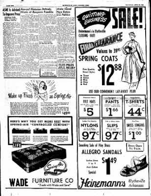 The Courier News from Blytheville, Arkansas on April 20, 1950 · Page 2
