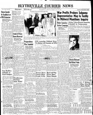 The Courier News from Blytheville, Arkansas on July 19, 1946 · Page 1