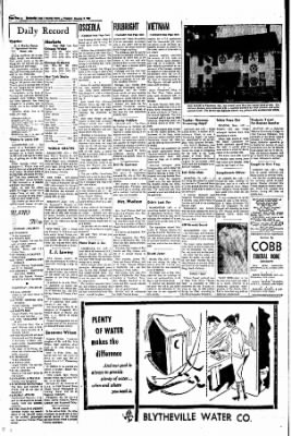 The Courier News from Blytheville, Arkansas on January 9, 1968 · Page 2