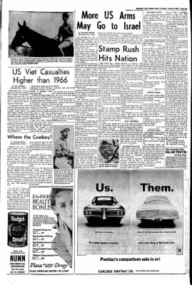 The Courier News from Blytheville, Arkansas on January 9, 1968 · Page 5