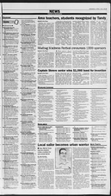 The Times from Shreveport, Louisiana on April 7, 1999 · Page 43