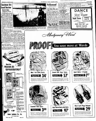 The Courier News from Blytheville, Arkansas on June 23, 1949 · Page 9