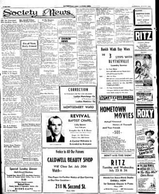 The Courier News from Blytheville, Arkansas on July 20, 1946 · Page 2