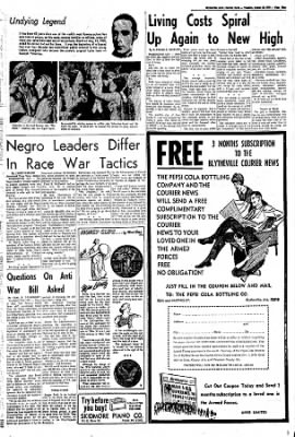 The Courier News from Blytheville, Arkansas on August 23, 1966 · Page 9