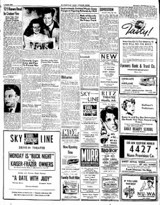The Courier News from Blytheville, Arkansas on September 19, 1949 · Page 10