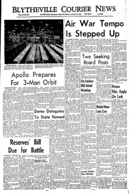 The Courier News from Blytheville, Arkansas on August 25, 1966 · Page 1