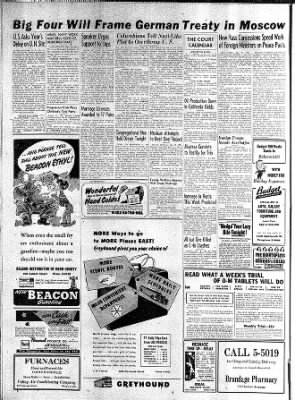 The Bakersfield Californian from Bakersfield, California on December 10, 1946 · Page 4