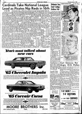 The Tipton Daily Tribune from Tipton, Indiana on October 1, 1964 · Page 4