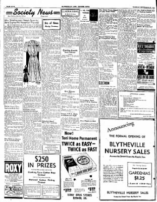 The Courier News from Blytheville, Arkansas on September 20, 1949 · Page 4