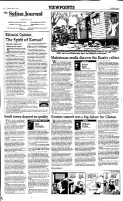 The Salina Journal from Salina, Kansas on May 16, 1995 · Page 4