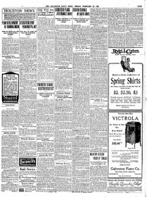 The Galveston Daily News from Galveston, Texas on February 23, 1923 · Page 2