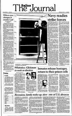 The Salina Journal from Salina, Kansas on January 4, 1986 · Page 1