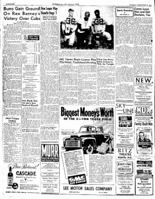 The Courier News from Blytheville, Arkansas on September 20, 1949 · Page 8