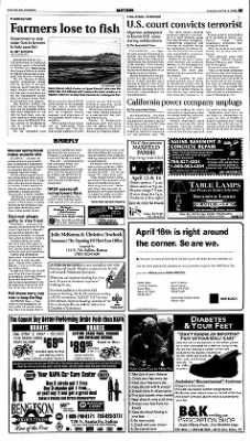 The Salina Journal from Salina, Kansas on April 8, 2001 · Page 5