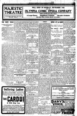 Iola Daily Register And Evening News from Iola, Kansas on September 12, 1908 · Page 6
