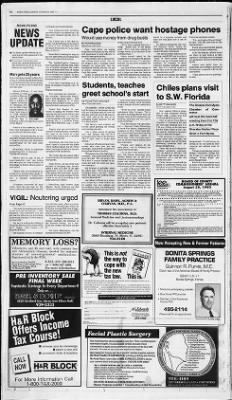 News press from fort myers florida on august 22 1993 page 46 malvernweather Choice Image