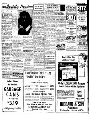 The Courier News from Blytheville, Arkansas on June 24, 1949 · Page 4